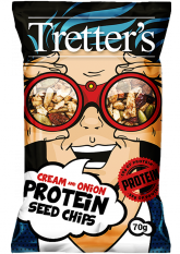 Protein Seed Chips Onion a Cream